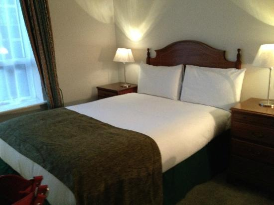 Travelodge Dublin City Centre, Stephens Green Hotel : Pleasant single room - but bed was rock hard!