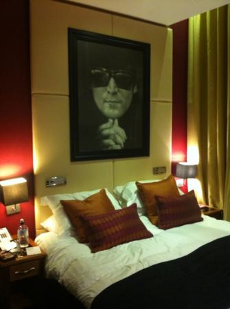 Our room picture of hard days night hotel liverpool for Beatles bedroom ideas