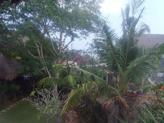 Flower Bud Bungalows Balangan: Vue du bungalow sur la plage de balangan beach