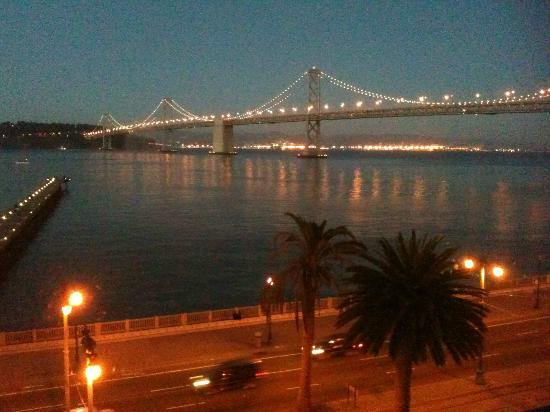 Hotel Griffon - A Greystone Hotel: Looking South to the Bay Bridge