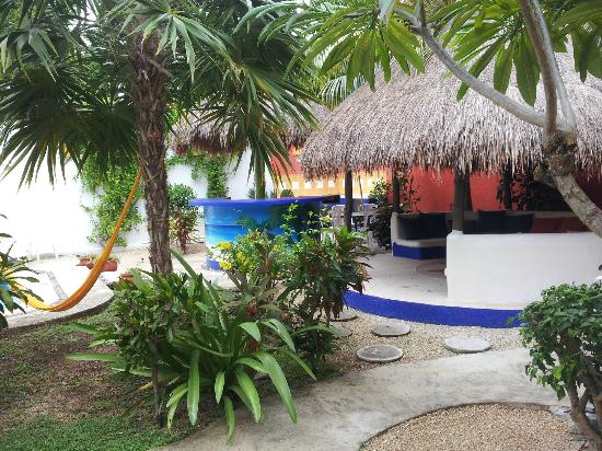 El Acuario Hotel: repos dans un hamac ? quelle bonne idée !