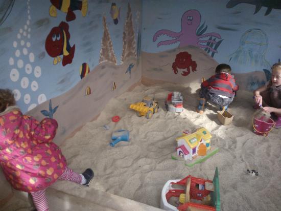Clonfert Pet Farm: The sandpit