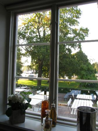 ‪‪Hotel Skeppsholmen‬: View from diningroom‬