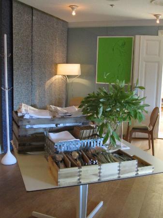 Hotel Skeppsholmen: Dining room