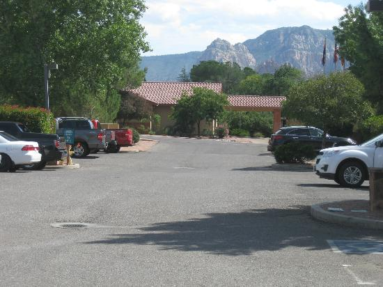 Sedona Springs Resort: View from the Hotel