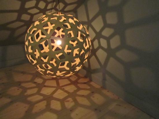 Hotel Skeppsholmen : Stunning lighting details