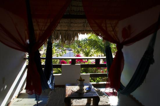 Pousada Morada do Sol: zona relax al primo piano