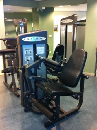 Radisson Sao Paulo Vila Olimpia: gym machines