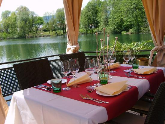 Restaurant & Cafe Caldarium: Seepavillon