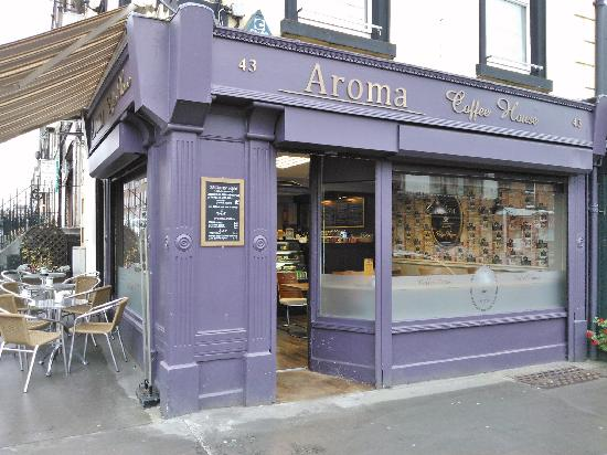 Aroma Coffee House: one of best places in Limerick to have a really nice time :)