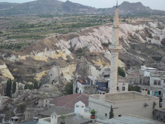 Harem Kapadokya: Vue de la terrasse