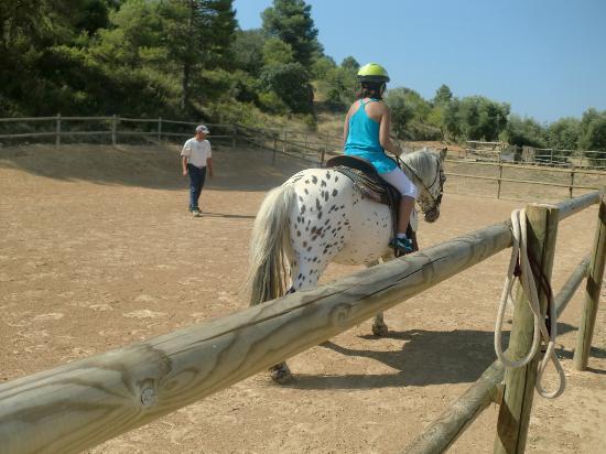 Vilar Rural de Arnes: Paseos a caballo en el Vilar