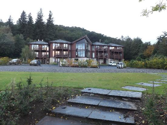 Lodge on Loch Lomond: Hotel Munroe building containing Munro rooms and Spa
