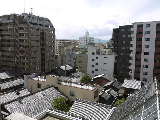 Hotel Monterey Kyoto: Ausblick nach links