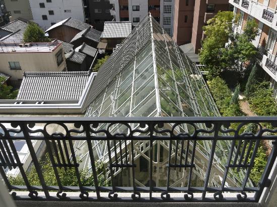 Hotel Monterey Kyoto: Ausblick in den Innenhof