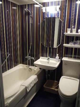 Hotel Monterey Kyoto: Badezimmer