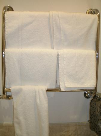 Leeson Bridge Guesthouse: Towel