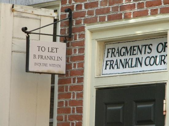 Free Tours by Foot: Benjamin Franklin's neighborhood and home