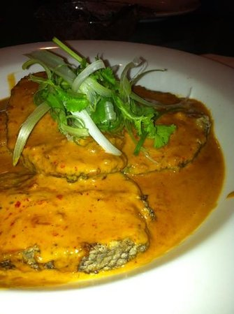 Bullcreek Chinese Restaurant: Panfried toothfish with Thai sauce