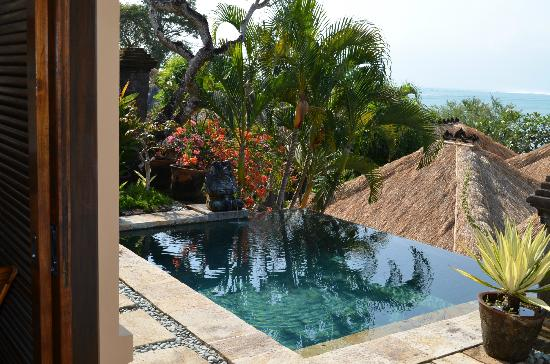 Four Seasons Resort Bali at Jimbaran Bay: Another view of the plunge pool