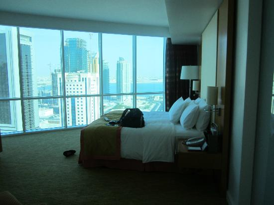 Hilton Doha: Our room on executive level
