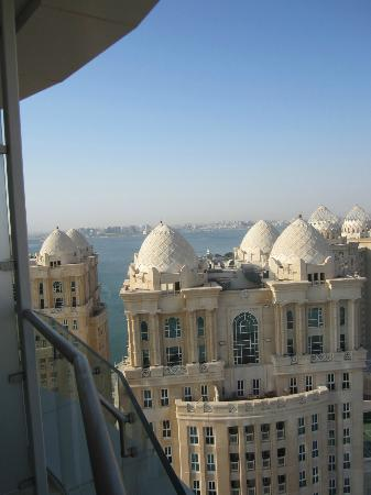 Hilton Doha: View from balcony
