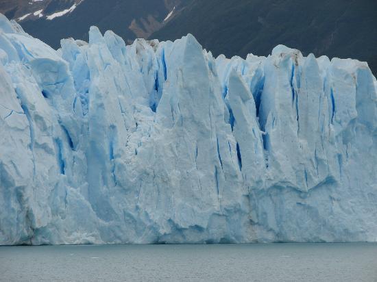 Upsala Glacier: vistas desde la navegacion
