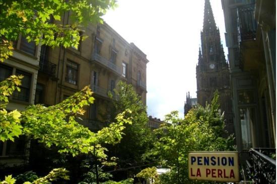 Pensión La Perla: View from our room