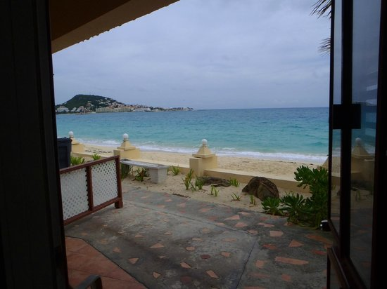 Mary's Boon Beach Resort and Spa: View from rm 16