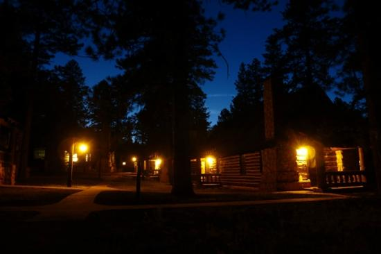 Bryce Canyon Lodge: soir