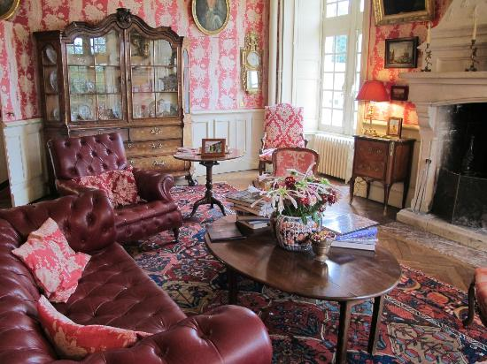 Chateau de la Barre : Sitting Room