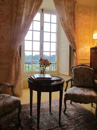 Chateau de la Barre : View from our bedroom