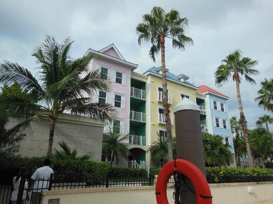 Atlantis - Harborside Resort: View of our room; top left corner