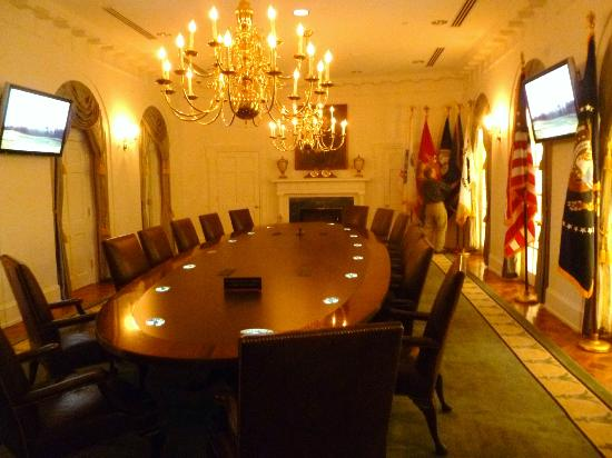 Gerald R. Ford Museum: Cabinet Room