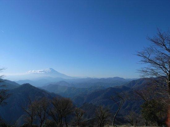 Mt. Nabewari: 山頂からの眺め