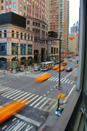 Hilton Garden Inn Times Square: the view from room #308.