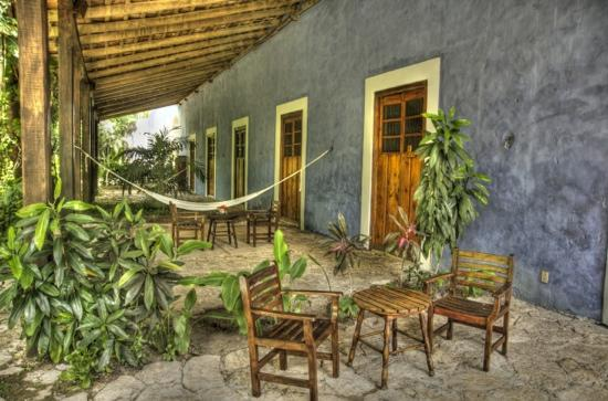 Hacienda San Jose, a Luxury Collection Hotel: Chillin' at Hacienda San Jose
