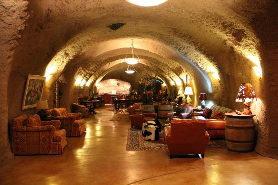 B. Wise Vineyards: The owner's 'man cave' -- AMAZING