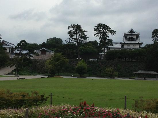 KKR Hotel Kanazawa : 金沢城公園のすぐ前です