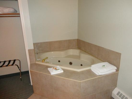 Econo Lodge & Suites: Tub