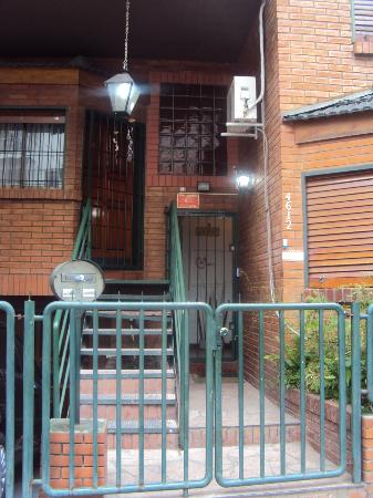 MT SOHO Hostel: Entrada