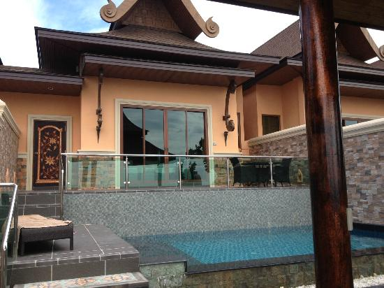 Ammatara Pura Pool Villa: Looking from private pool