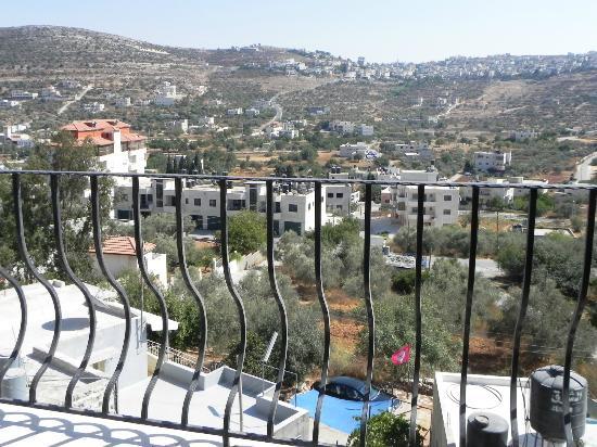 Khouriya Family Guesthouse: vue de notre terrasse