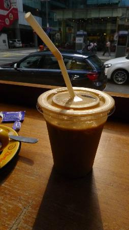 Cafe Zambra: Iced-coffee - tasted fine
