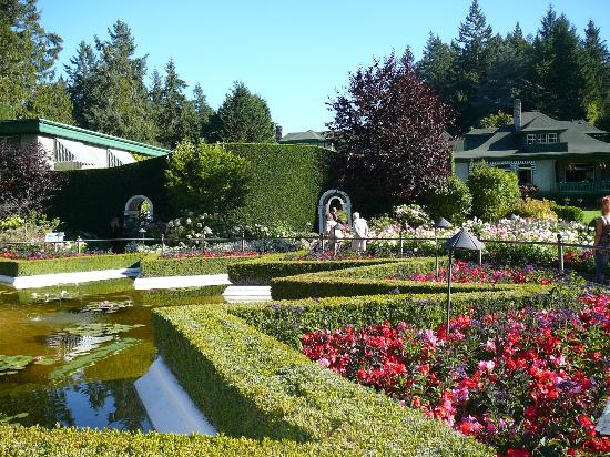 Ross Fountain Picture Of Butchart Gardens Central Saanich Tripadvisor