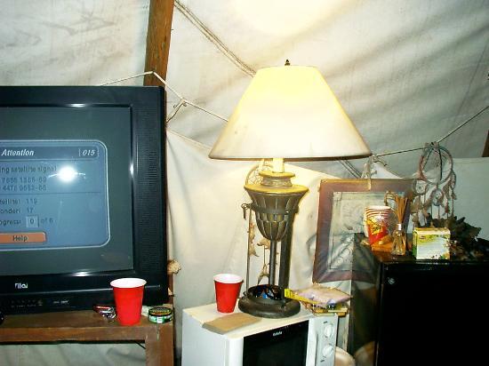 Diamond John's Riverside Retreat: TV and such