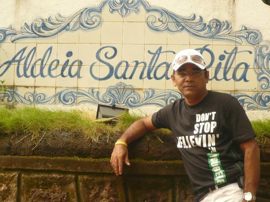 Aldeia Santa Rita: Me in Aldeia, Goa