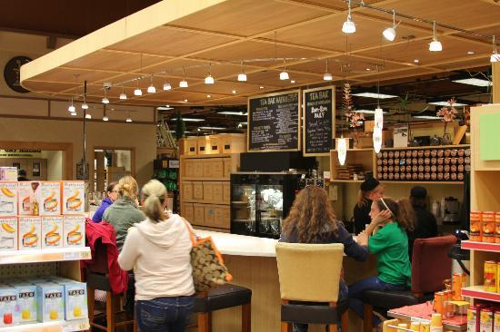 Wegmans Market Cafe: Tea bar