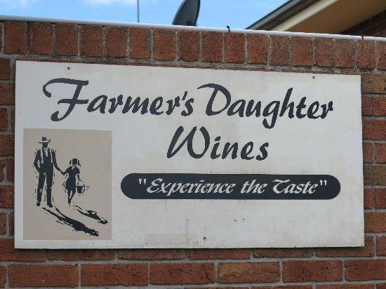 Farmer's Daughter Wines: Farmer's Daughter Cellar Door