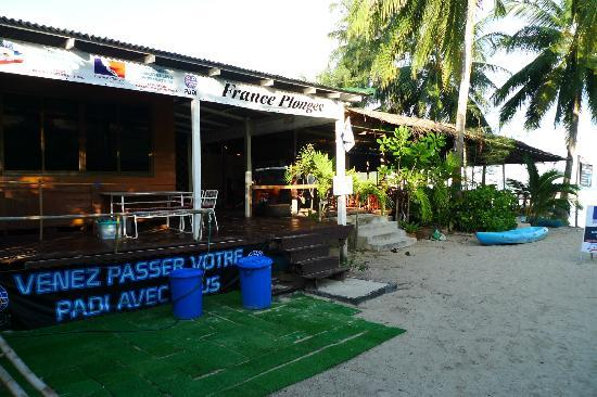 Diving school at Haad Salad Villa